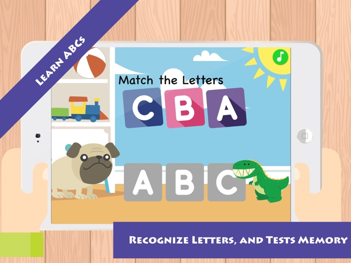 Match & Learn: Learn ABCs Alphabet