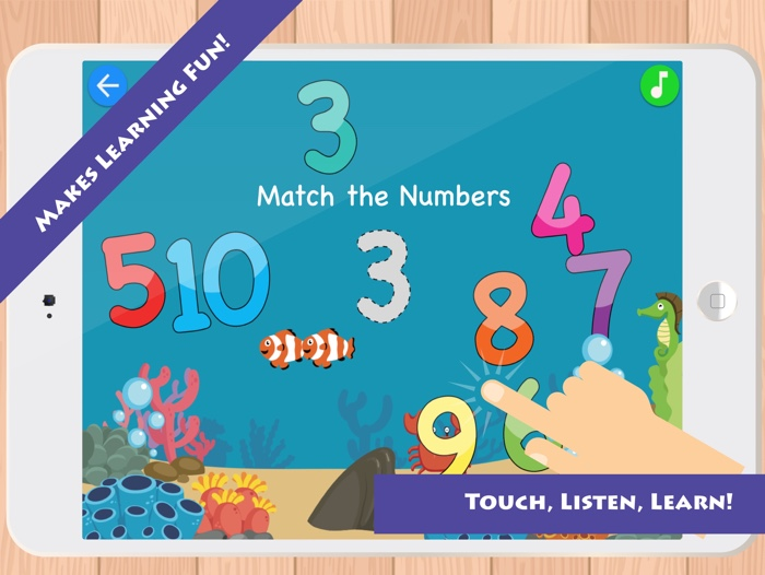 Match & Learn: Learn Numbers