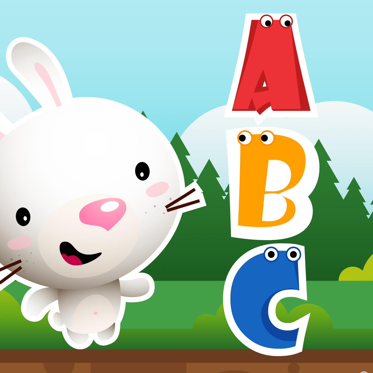 ABC Train: Toddler Alphabet, ABC Letters & Animals