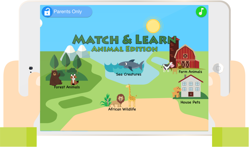 Match & Learn: Farm Animals and More