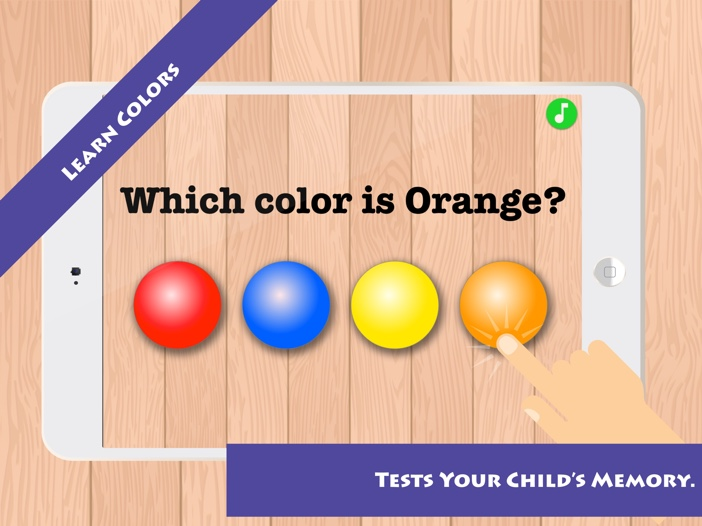 Match & Learn: Learn Colors