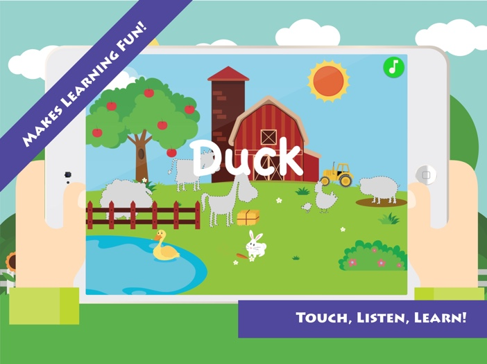 Match & Learn: Farm Animals