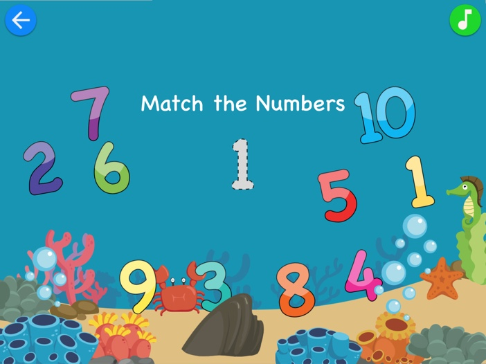 Match & Learn: Pre-K Basics Game