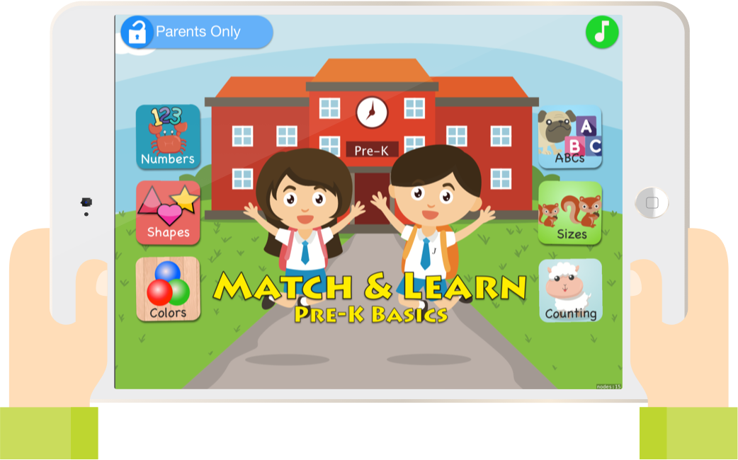 Match & Learn: Pre-K Basics Learning Game