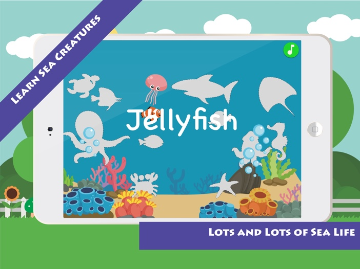 Match & Learn: Sea Creatures