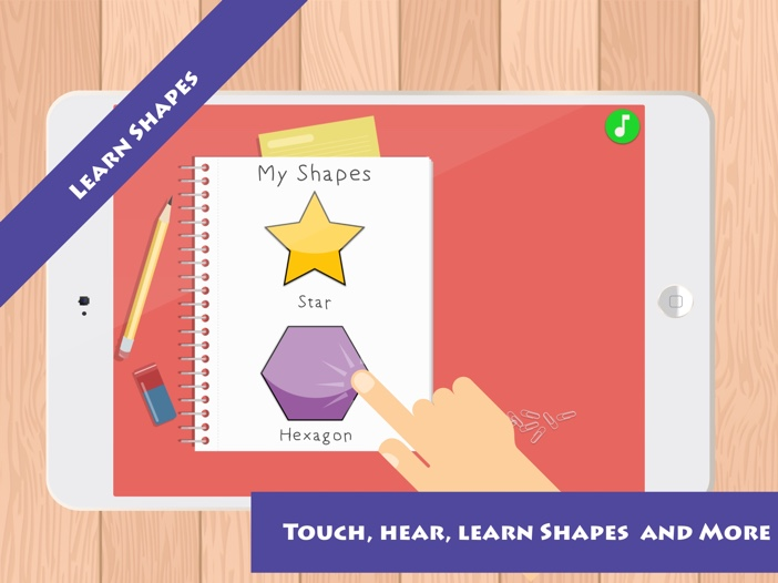 Match & Learn: Learn Shapes